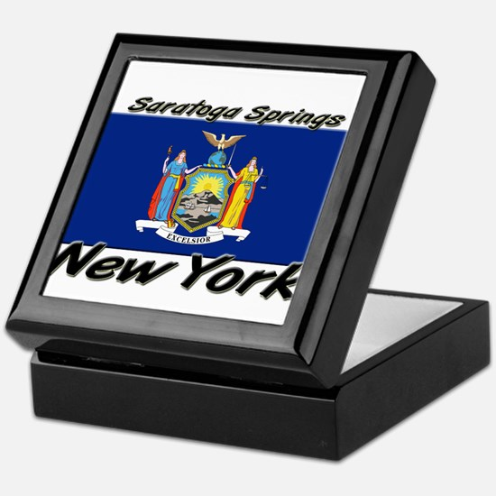 Saratoga Springs New York Keepsake Box