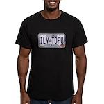 ILVTOFU Men's Fitted T-Shirt (dark)