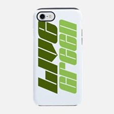 live green two tone.png iPhone 7 Tough Case