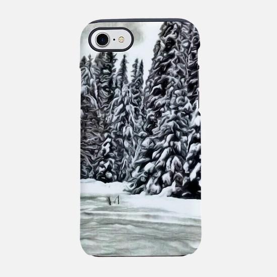 Winter Wonderland iPhone 7 Tough Case