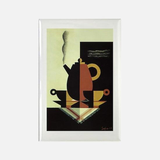 Vintage Coffee Magnets