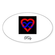 Poly Oval Decal