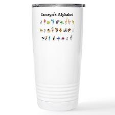 Camryn's Animal Alphabet Travel Mug