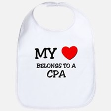 My Heart Belongs To A CPA Bib