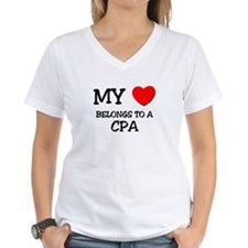 My Heart Belongs To A CPA Shirt