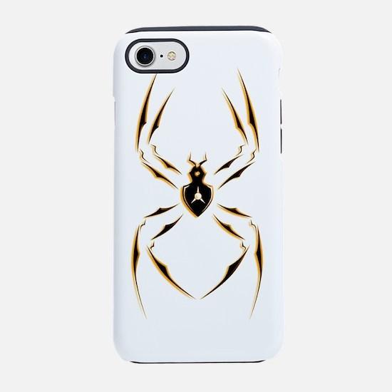tribal spider orange.png iPhone 7 Tough Case