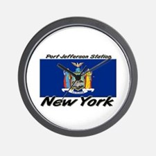 Port Jefferson Station New York Wall Clock