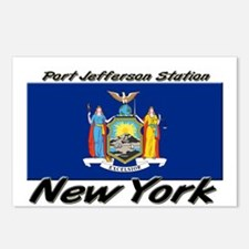 Port Jefferson Station New York Postcards (Package