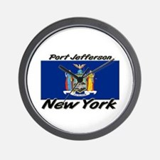 Port Jefferson New York Wall Clock