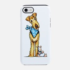 Unique Welsh terrier art iPhone 7 Tough Case