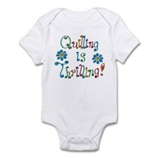 Quilling Infant Bodysuit