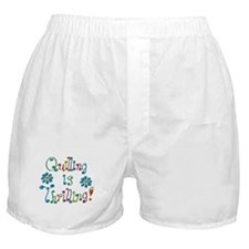 Quilling Boxer Shorts