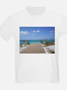Caribbean boardwalk T-Shirt