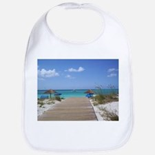 Caribbean boardwalk Bib