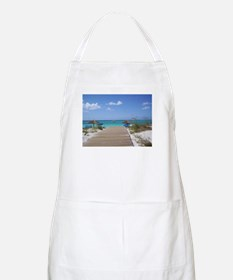 Caribbean boardwalk BBQ Apron
