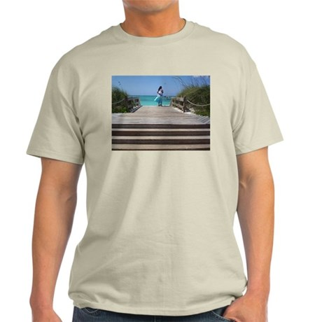 Looking out over ocean Light T-Shirt