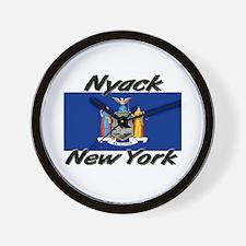 Nyack New York Wall Clock
