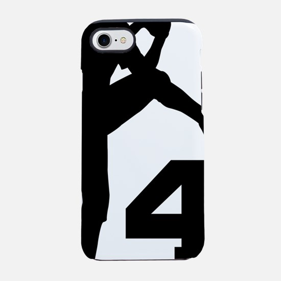 4 Pitcher Silhouette.png iPhone 7 Tough Case