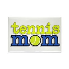 Tennis Mom Rectangle Magnet