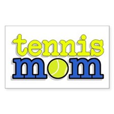 Tennis Mom Rectangle Decal