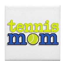 Tennis Mom Tile Coaster