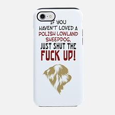 Cute Polish christmas iPhone 7 Tough Case
