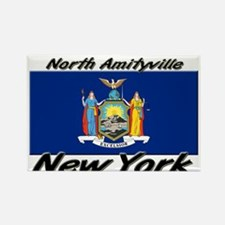 North Amityville New York Rectangle Magnet