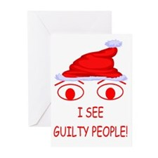 Christmas Cop Greeting Cards (Pk of 10)