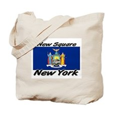 New Square New York Tote Bag