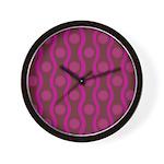 Bombshell Grape Wall Clock