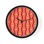Bombshell Cherries Jubillee Wall Clock