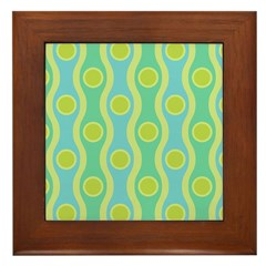 Bombshell Tropical Framed Tile