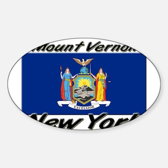 Mount Vernon New York Oval Decal
