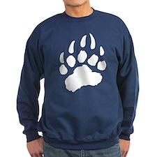 WHITE Bear Paw Jumper Sweater