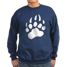 WHITE Bear Paw Sweatshirt