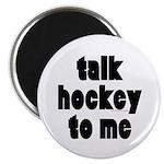 Talk Hockey phat Magnet