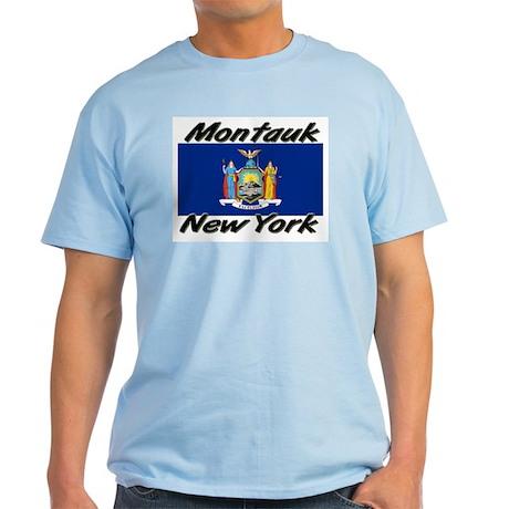 Montauk New York Light T-Shirt