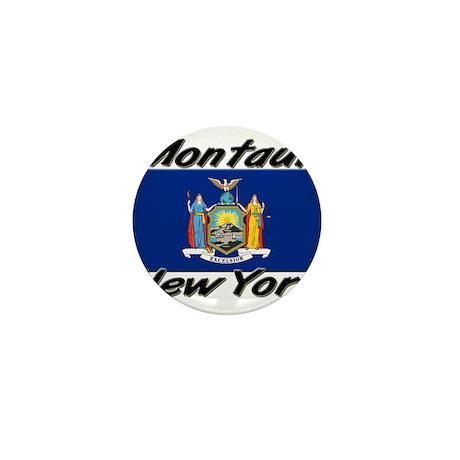 Montauk New York Mini Button