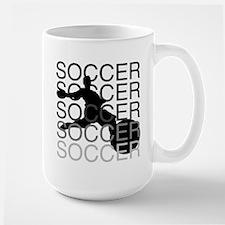 SOCCER Large Mug