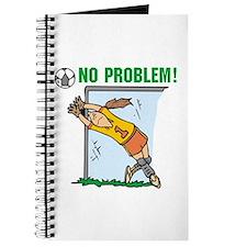 Girl Soccer Goalie Journal