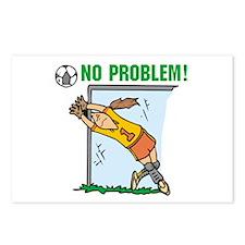 Girl Soccer Goalie Postcards (Package of 8)