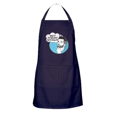 Sexy and I Don't Know It Apron (Dark)