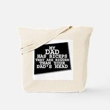 Cool Biceps Tote Bag