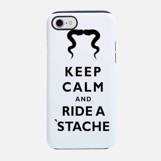 Mustache-017-A iPhone 7 Tough Case