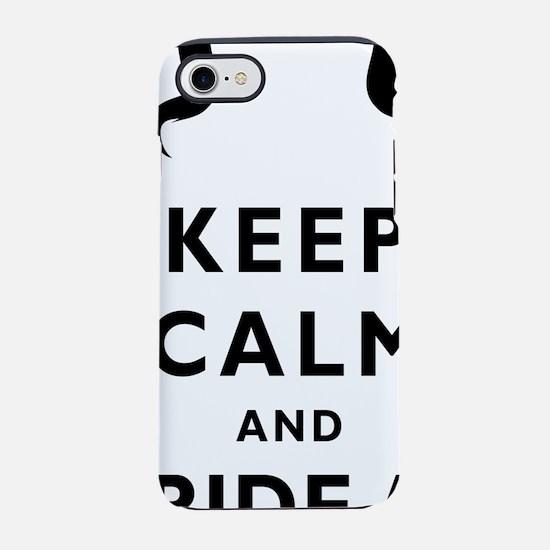 Mustache-033-A iPhone 7 Tough Case