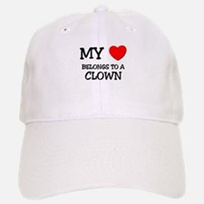 My Heart Belongs To A CLOWN Baseball Baseball Cap