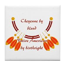 """Cheyenne"" Tile Coaster"