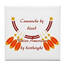 """""""Comanche"""" Tile Coaster"""