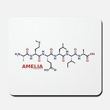 Amelia name molecule Mousepad
