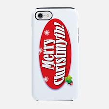 Cute Merry christmyth iPhone 7 Tough Case